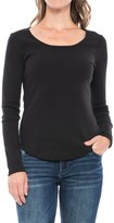 Lilla P Classic Scoop Neck Shirt - Long Sleeve (For Women)