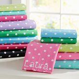 Dottie Pillowcases, Standard, Set of 2, Bright Magenta
