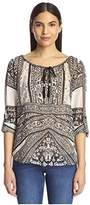 Hale Bob Women's Roll Sleeve Tunic