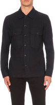 Sandro Utility slim-fit cotton shirt