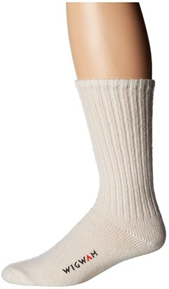 Wigwam 625 (White) Crew Cut Socks Shoes