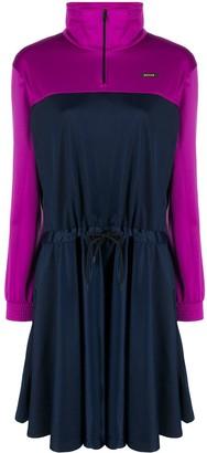 MSGM Colour-Block Activewear Dress