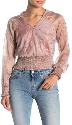 4SI3NNA the Label Shanie Embellished Star Top