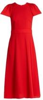 Goat Dionne wool-crepe dress