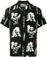 Wacko Maria 'Lee Perry' short sleeve shirt - men - Rayon - S