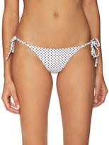 Frankie's Bikinis Frankie Ruched Tie Side Bikini Bottoms