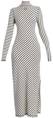 Loewe Multi-Stripe Jersey Maxi Dress