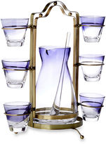 Global Views 9-Pc Royal Decanter Caddy