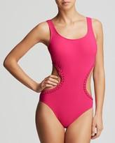 Gottex Profile by Waterfall Monokini One Piece Swimsuit
