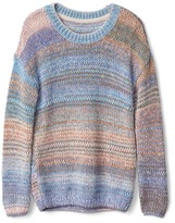 Gap Chunky multi-dyed sweater