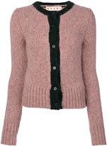 Marni Melange cardigan - women - Polyamide/Wool/Alpaca - 44