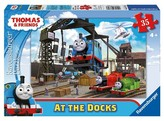 Thomas & Friends Ravensburger At the Docks Puzzle - 35 Pieces