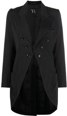 Y's Single-Breasted Tuxedo Jacket
