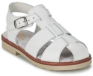 Citrouille et Compagnie MOUNET boys's Sandals in White