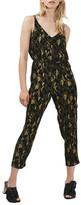 Topshop Camo Print Belted Jumpsuit (Petite)