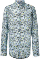 Fendi floral printed shirt - men - Cotton - 40