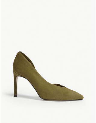 Ted Baker Daphnes d'orsay suede courts