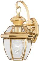 Quoizel Newbury Small Wall Lantern in Gold