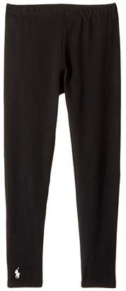 Polo Ralph Lauren Solid Jersey Leggings (Little Kids/Big Kids)