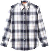 Joe Fresh Women's Plaid Shirt, Grey (Size XS)