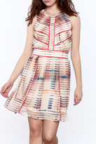 Adelyn Rae Striped A-Line Dress