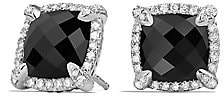 David Yurman Women's Châtelaine® Pave Bezel Stud Earring with Gemstone and Diamonds