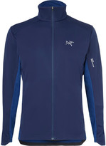 Arc'teryx Trino Gore Windstopper And Atreus Jacket - Navy