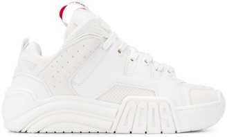 GCDS Logo Patch High-Top Sneakers