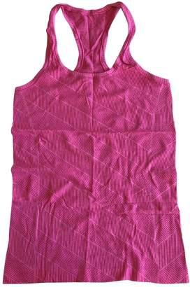 Lululemon Pink Synthetic Tops