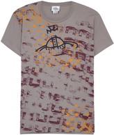 Vivienne Westwood Manhole Rubbings Printed Cotton T-shirt