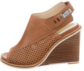 Rag & Bone Leather Perforated Wedges w/ Tags