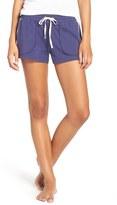 Lucky Brand Women's Cotton Blend Lounge Shorts