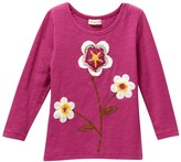 Mimi & Maggie Rain Flowers Tee (Toddler, Little Girls, & Big Girls)