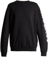 Off-White Othelo floral-print cotton sweatshirt