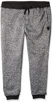 Southpole Men's Big and Tall Marled Fleece Jogger Pants