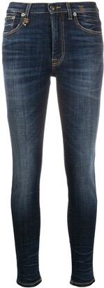R 13 High-Rise Skinny Jeans
