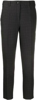 Boutique Moschino Crocodile-Print Slim-Fit Trousers