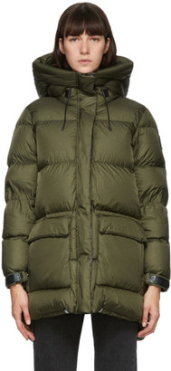 Mackage Khaki Down Foil Shield Maisie Jacket