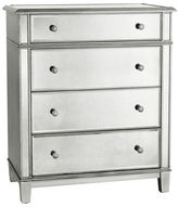 Pier 1 Imports Hayworth Mirrored Silver Chest