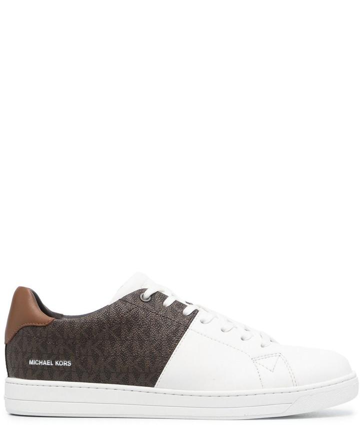 MICHAEL Michael Kors Keaton two-tone logo sneakers