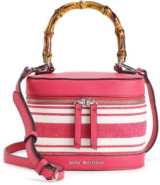 Dana Buchman Striped Round Bag