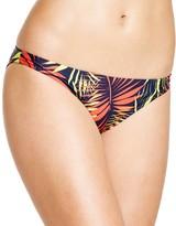 Milly Palm Print Bikini Bottom