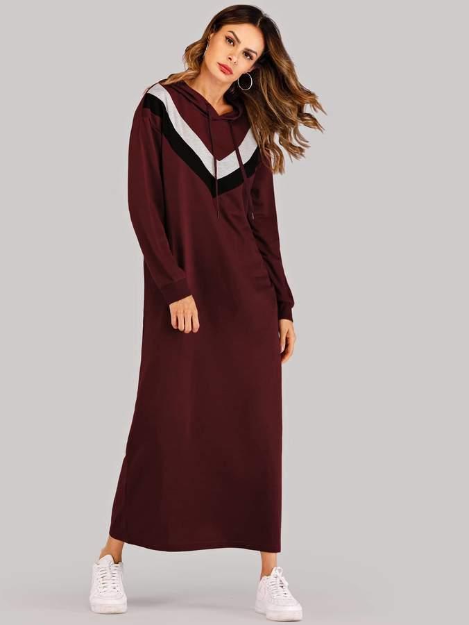 36d2d2ca3f Hooded Sweatshirt Dress - ShopStyle