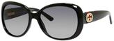 Gucci 3644 Polarized Modified Oval Sunglasses