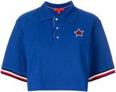 Hilfiger Collection cropped logo polo shirt