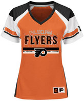 Majestic Women's Philadelphia Flyers Ready to Win Shimmer Jersey