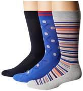 Hue Baseball Socks with Half Cushion 3-Pack
