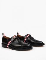Thom Browne Black Leather Brogues
