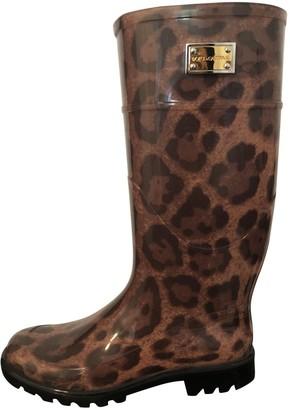 Dolce & Gabbana Multicolour Rubber Boots