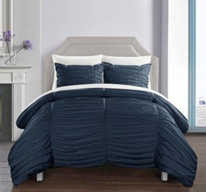 Chic Home Kaiah 7 Piece King Bed In a Bag Comforter Set Bedding